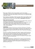 Vejledning til patienter med brud i ryggen - Page 5