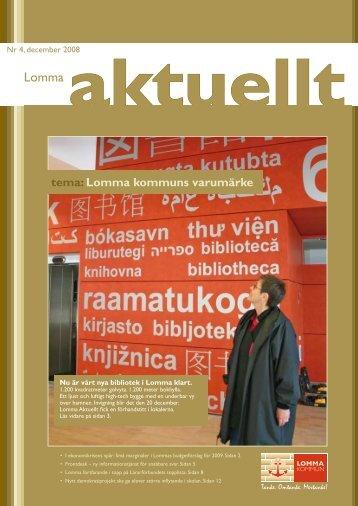 Lomma Aktuellt 4-2008.pdf - Lomma kommun