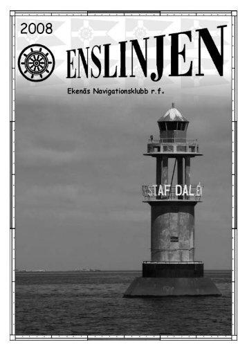 Enslinjen 2008 - Ekenäs Navigationsklubb rf