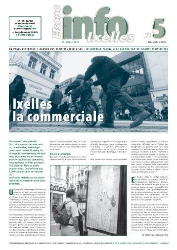 Info Ixelles Elsene n°5 - Elsene - Région de Bruxelles-Capitale
