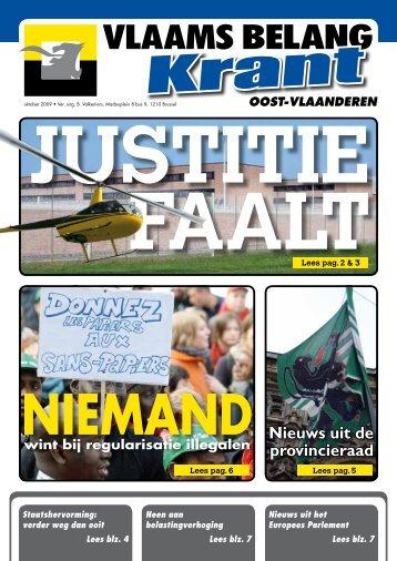 Oost-Vlaanderen - Vlaams Belang