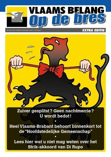 De campagne vindt u als bijlage. - Vlaams Belang
