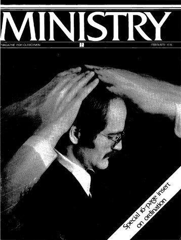 MAGAZINE FOR CLERGYMEN FEBRUARY 1978 - Maranatha Media