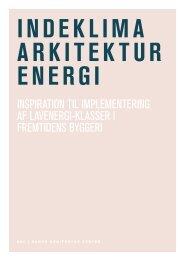Indeklima Arkitektur Energi - Dansk Arkitektur Center