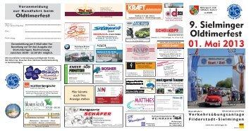 01. Mai 2013 9. Sielminger Oldtimerfest - Motorsportclub Sielmingen ...