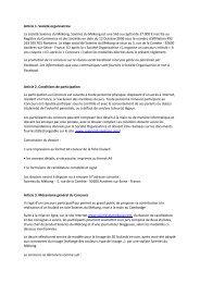 Article 1. Société organisatrice La société Soieries du Mékong ...