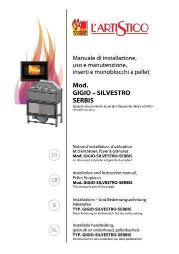 Handleiding voor installatie, gebruik & onderhoud - I Fire
