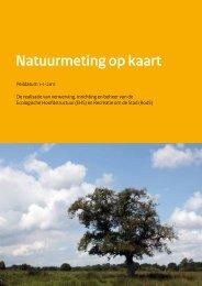 Natuurmeting op Kaart (NOK) 2011 - Dienst Landelijk Gebied