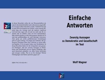 Einfache Antworten - Landeszentrale für politische Bildung Thüringen