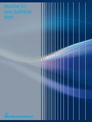 Impulse für eine drahtlose Welt - Rohde & Schwarz Greece