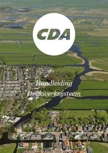 Download hier - CDA