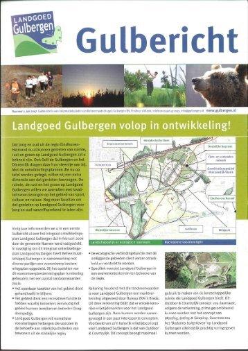 Gulbericht - juli 2007 - Landgoed Gulbergen
