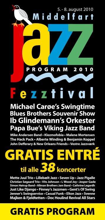 GRATIS ENTRÉ - Middelfart Jazz Fezztival