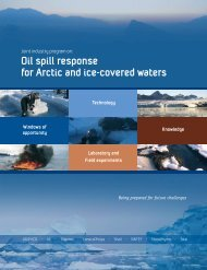 Oil spill response for Arctic and ice-covered waters - DF Dickins ...