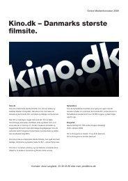 Kino.dk – Danmarks største filmsite.