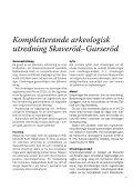 Kompletterande arkeologisk utredning - Rabbalshede Kraft - Page 7