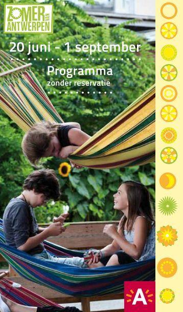 Brochure downloaden - Zomer van Antwerpen