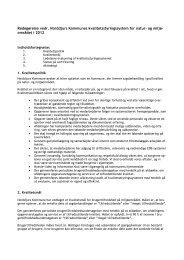 redegørelse om kvalitetsstyringssystemet - Norddjurs Kommune