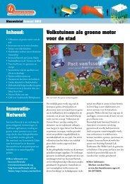 nieuwsbrief innovatienetwerk jan 2013
