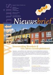 Samenwerking Weusthuis & VD2 Advies Grondexploitatiewet