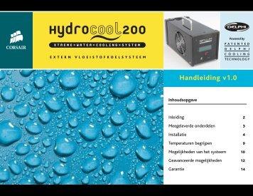 HydroCool Manual DUTCH - De Utrechtse PC Klusjesman