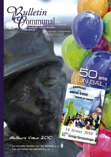 Numéro 82 : 2009 - Marche-en-Famenne