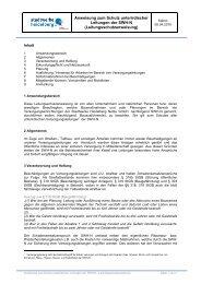 Anweisung zum Schutz unterirdischer Leitungen der SWH-N ...
