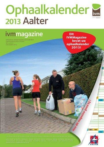 2013 Aalter - IVM