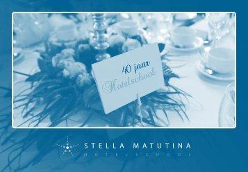 40 jaar - stella matutina