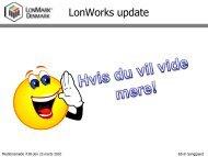 LonWorks update