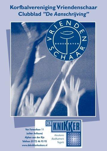 aanschrijving van 2 april 2012 - AKV Vriendenschaar