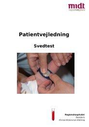 INFO 530 Patientvejledning svedtest.pub - Regionshospitalet Randers