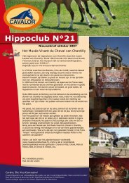 Hippoclub Nieuwsbrief nr. 21 - Cavalor
