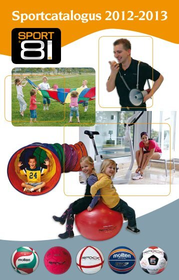 Sportcatalogus 2012-2013 - Sport 81