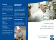 Chef Gastro-engineering - Katholieke Hogeschool Sint-Lieven ...