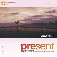 Waarlijk!? - Protestantse Gemeente Amstelveen-Buitenveldert