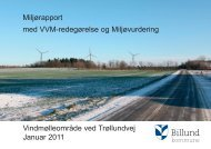 VVM-redegørelse - Billund Kommune