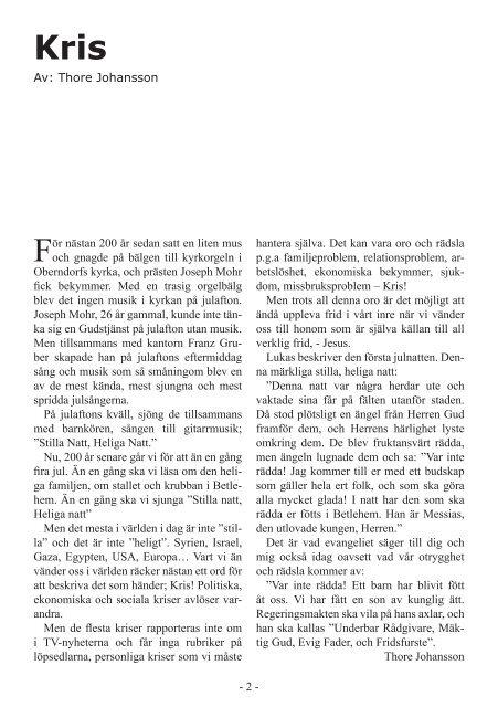 Programblad december 2012 - februari 2013 - Ölmstad ...