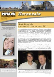 Afdelingsblaadje april 2011 - N-VA Herentals