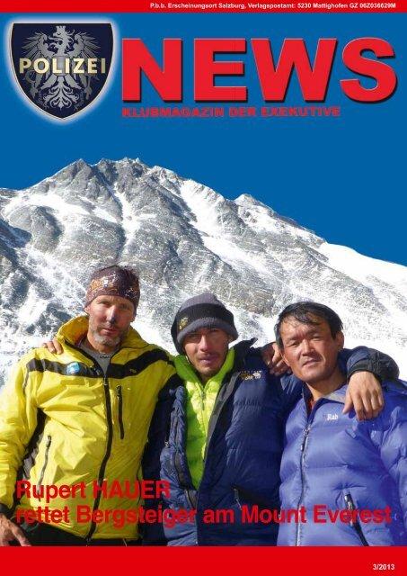 Polizei News 3_2013 Salzburg Klubmagazin der Exekutive - FSG