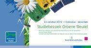 Studiebezoek Groene Sleutel - Bond Beter Leefmilieu