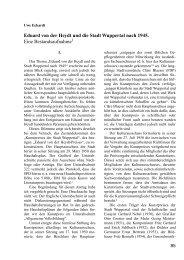 Eduard von der Heydt und die Stadt Wuppertal ... - BGV-Wuppertal