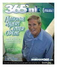 cover story: national rivers center - Dubuque365