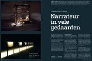 Lees het interview uit feb. 2009 in Kunstbeeld (PDF) - Matthijs Bosman