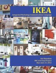 IKEA Integrated Marketing Communications ... - Kat Shanahan