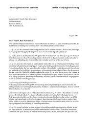 Læs LO og DA's fælles brev til socialministeren