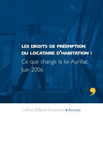 Télécharger document - Lefèvre Pelletier & associés