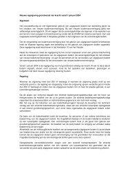 Nieuwe regelgeving grondverzet van kracht vanaf 1 januari 2004 ...