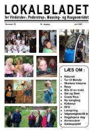 Juli 2007 - Lokalbladet - For Vinderslev-, Pederstrup-, Mausing