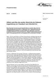 Pressemitteilung lesen - 50Hertz Transmission GmbH